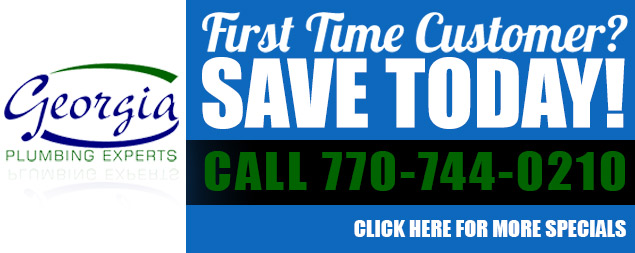 Georgia Plumbing Coupon Cartersville, GA